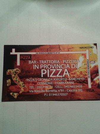 Provincia di pizza