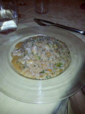 Osteria Livornese : Risotto con i fiocchi...