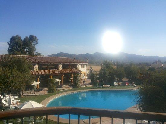 Hotel Casablanca,Spa & Wine: Vista desde nuestra habitación
