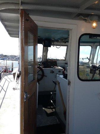 San Diego Whale Watch: капитанская рупка