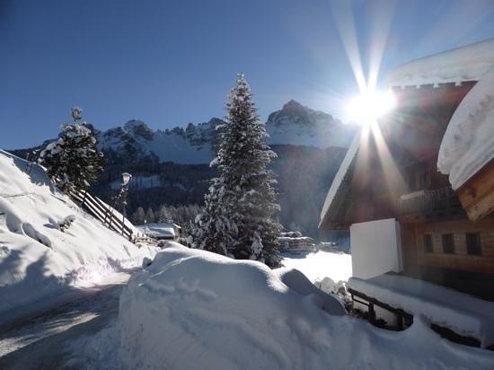Kräuterhotel Zischghof : Das Kräuterhotel versinkt im Schnee!
