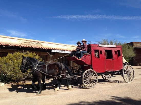 Old Tucson : Pony Express