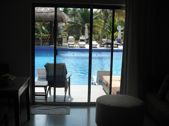 Sensimar Seaside Suites & Spa: View from our room