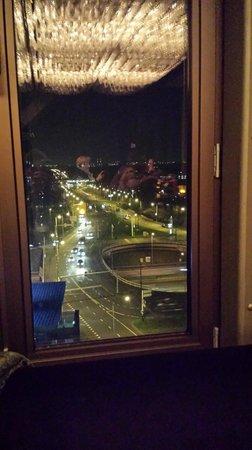 WestCord Fashion Hotel Amsterdam: Vue du SkyBar