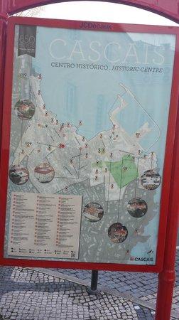 Cascais : city map