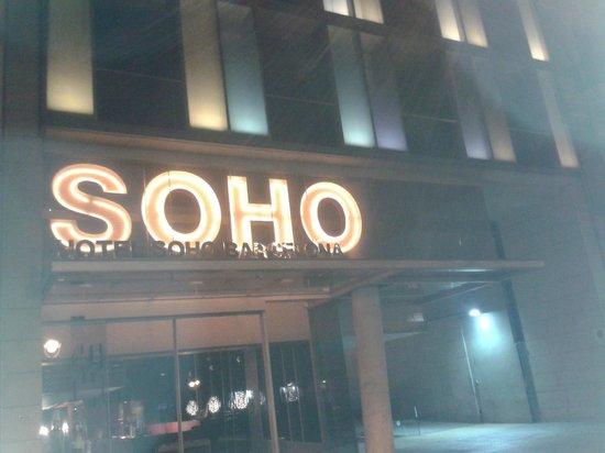 Soho Hotel : Outside the Hotel