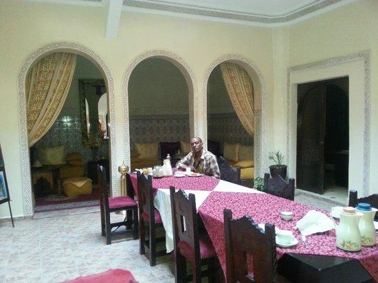 Riad La Kahana : Dining room