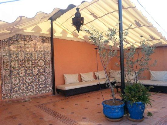Riad La Kahana : Roof terrace