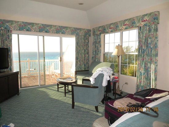 Pompano Beach Club : deluxe end room