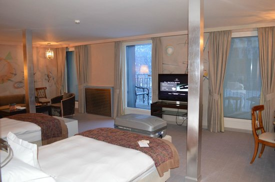 Carlton Hotel St. Moritz: Suite