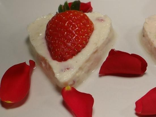 Sanskruti Restaurant : Special valentine's dessert surprise
