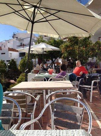 Bodega de Pepe : het zonnige en mooi gelegen terras