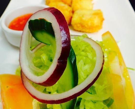Sanskruti Restaurant : Paneer Papad Crispis