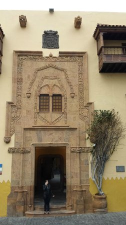 Casa de Colon: puerta2