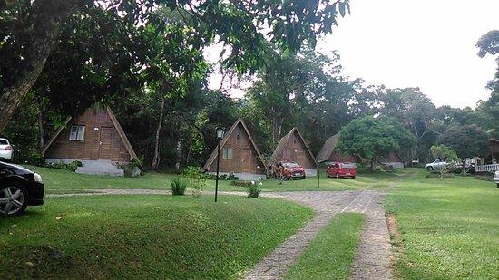 Monteiro Lobato: Chalés de madeira