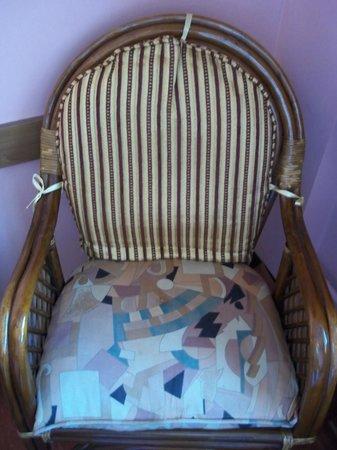 Hali Hotel: unmatching upholstery