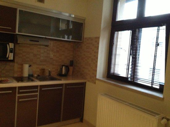 ... bien completa - Foto di Red Brick Apartments, Cracovia - TripAdvisor