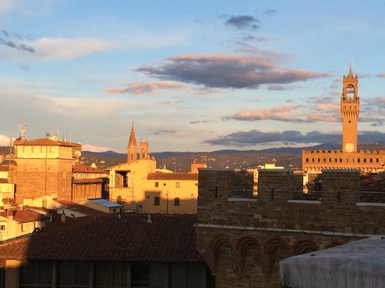 Antica Torre di Via Tornabuoni: View from rooftop terrace