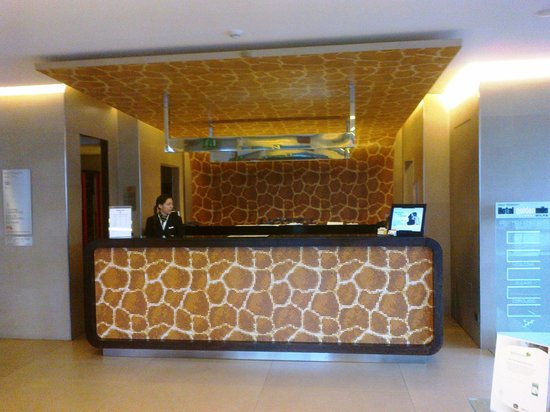BEST WESTERN Hotel Goldenmile Milan: The reception