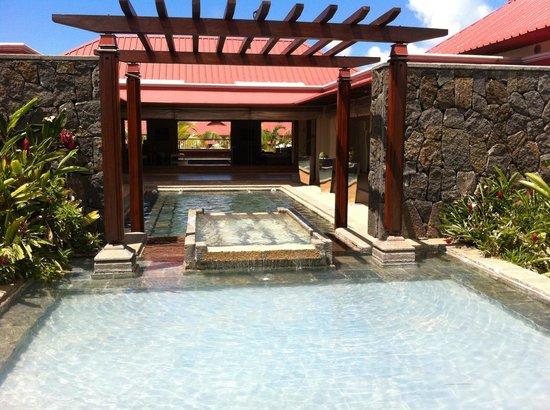Tamassa Resort: Near the entry