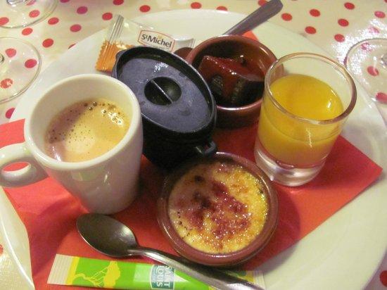 le petit canard : Café gourmand...;)