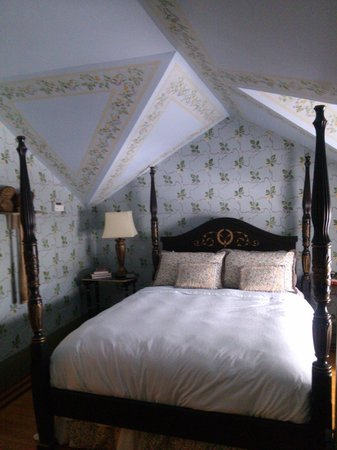 The Historic Homestead: One of the rooms.