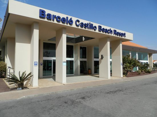 Barcelo Castillo Beach Resort : entrata