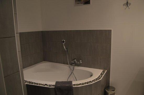 baignoire douche l 39 italienne photo de le mas des. Black Bedroom Furniture Sets. Home Design Ideas