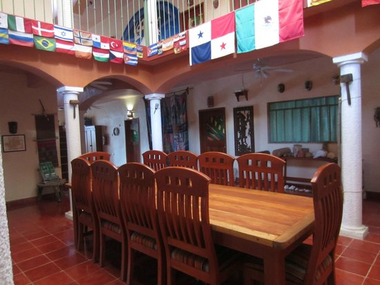 Casa Hamaca Guesthouse: The inner hall