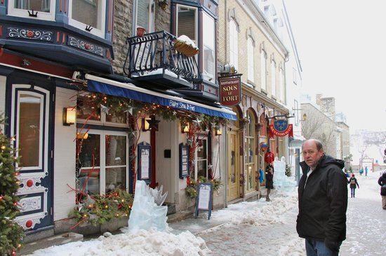 Old Quebec: Lower town charm