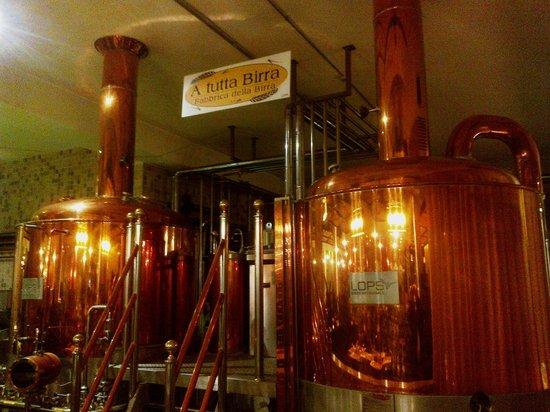 Brewery - Foto di A Tutta Birra Restaurant, Trezzano sul Naviglio ...