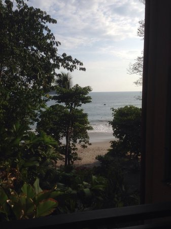 Arenas del Mar Beachfront & Rainforest Resort: View from room 302