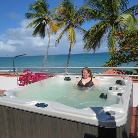 Tres Palmas Inn: relaxing