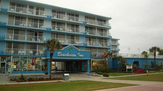 Beachview Hotel : Frente do Hotel