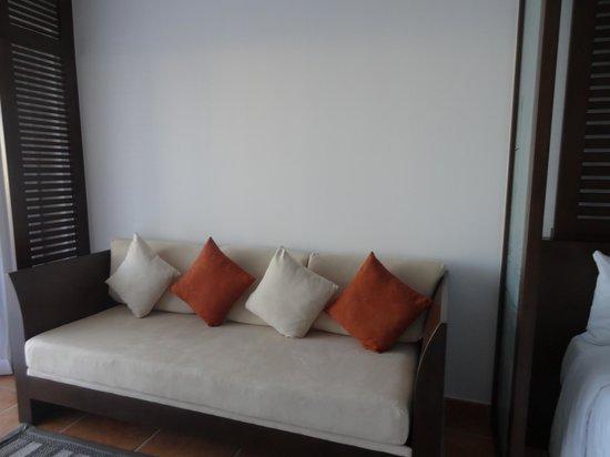 Hyatt Ziva Los Cabos: sofa in premier room