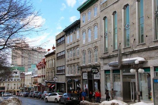 Old Quebec: Rue Ste Jean - Upper town