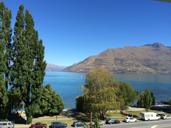 Rydges Lakeland Resort Hotel Queenstown: view from my room