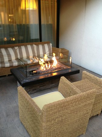 Sheraton Fisherman's Wharf Hotel : Exterior fire pit