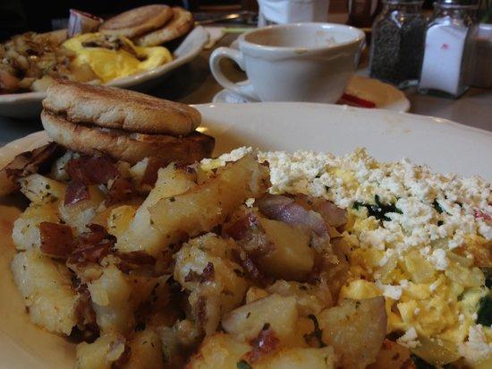 Maltby Cafe : Mediterranean Scramble