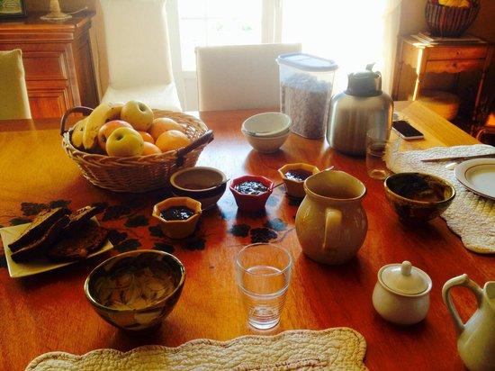 Le Mas des Vignes : Le petit déjeuner
