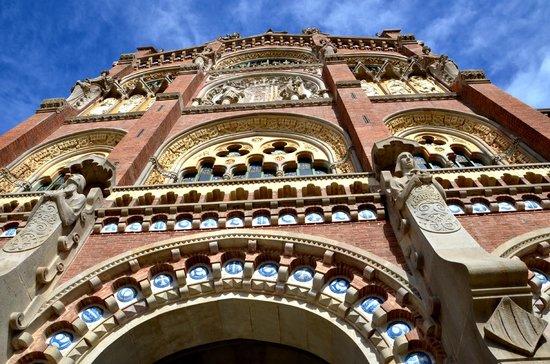 Sant Pau Recinte Modernista: Outside