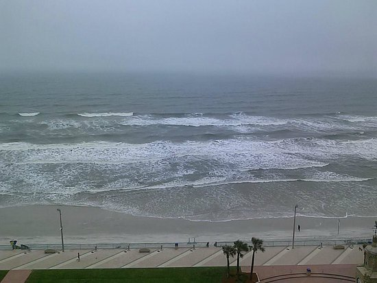 Hilton Daytona Beach / Ocean Walk Village : View from our 14th floor room