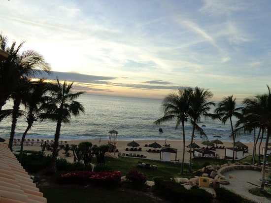Grand Fiesta Americana Los Cabos All Inclusive Golf & Spa : Amanhecer visto do quarto