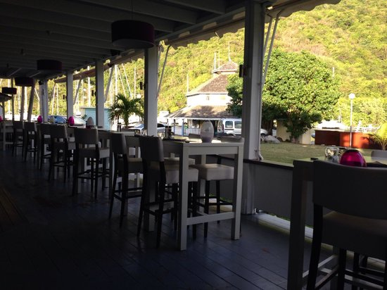Victoria's Restaurant: Marina View