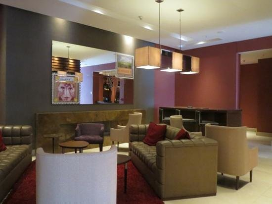 Movich Hotel Chico 97: Lounge on ground floor