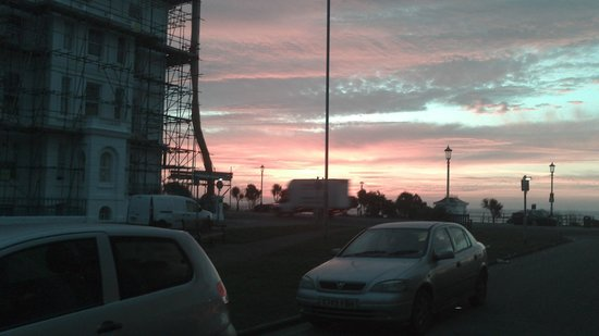 da Vinci Eastbourne: View from hotel entrance
