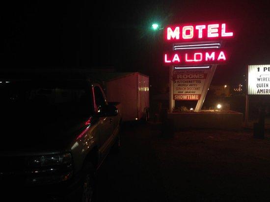 La Loma Motel : Front office