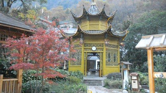 Huangshan Hot Spring: Une pagode où se reposer entre deux bains