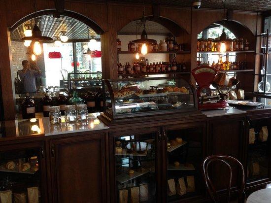 Hilton Bogota: Cafeteria do hotel