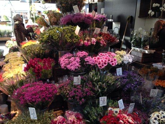 Torvehallerne: Flowers